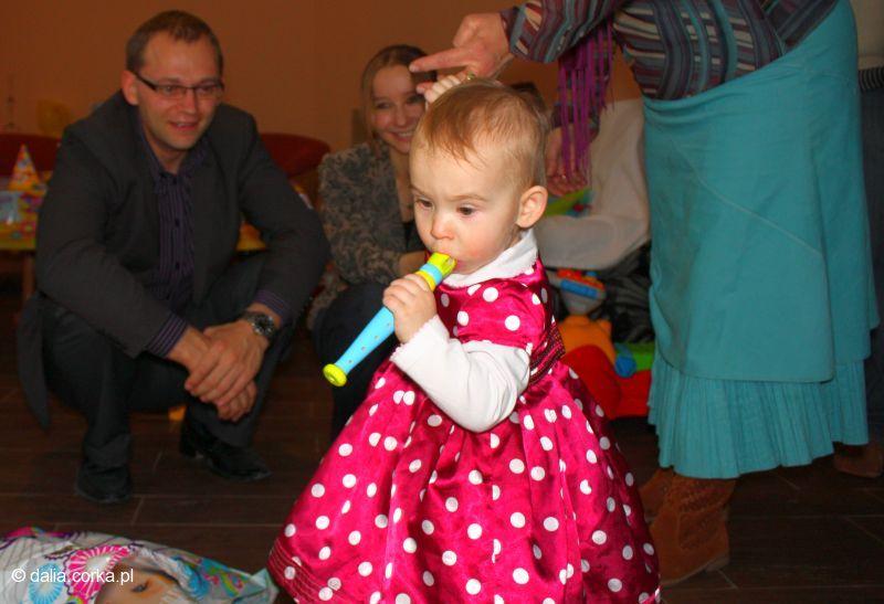 Koncert podczas moich urodzin :-) gram na flecie