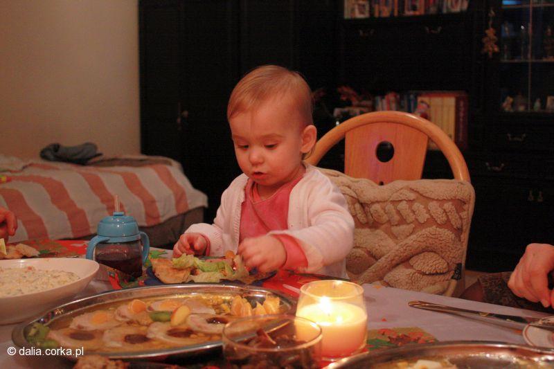 Wigilia - jestem zajęta jedzeniem  ;-)