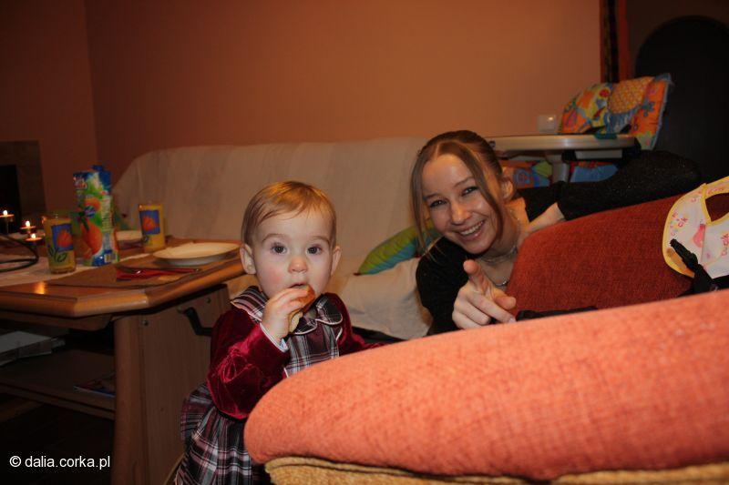 :-) z ciocią