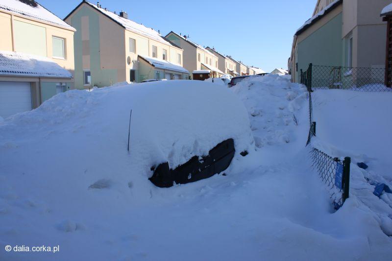 Zimowy samochód
