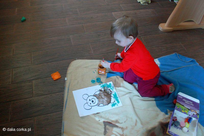 Malowanie na śniadanie