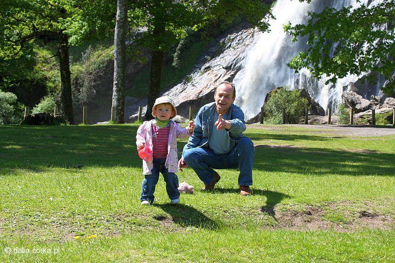 Z dziadkiem Januszem