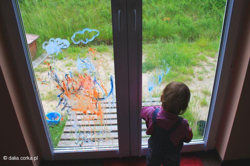 Malowanie witraży :-)