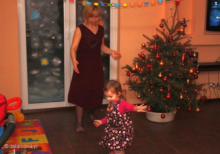 Tańczę z mamą :-)