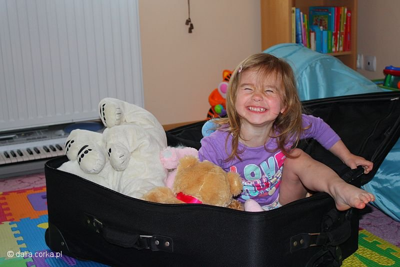 Pakowanie walizki przed podróżą