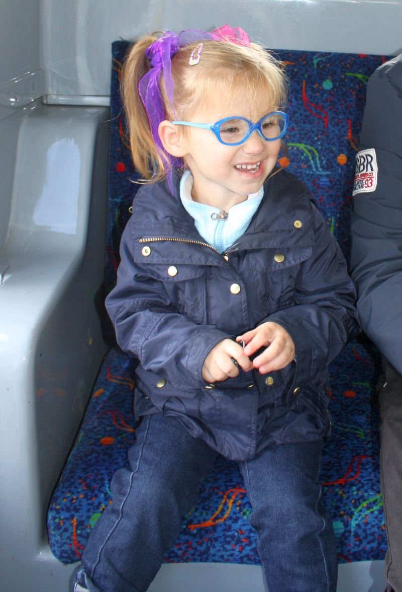 Pasażerka busa :-)