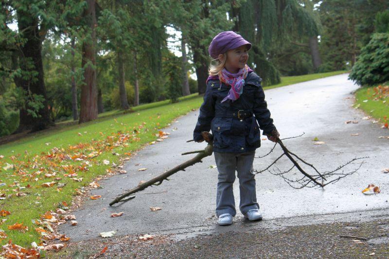 Kije dla Tosi prosto z National Botanic Garden :-)