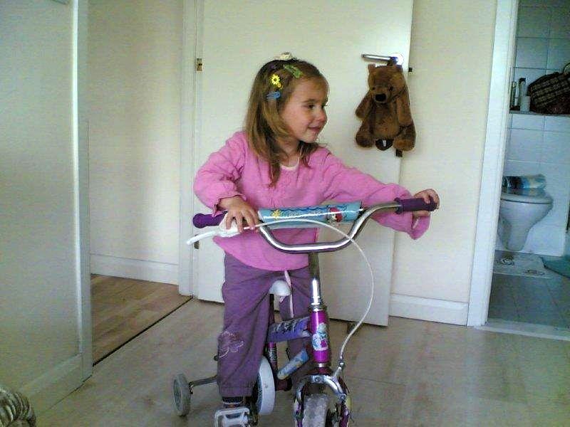 Rowerem po domu :-)