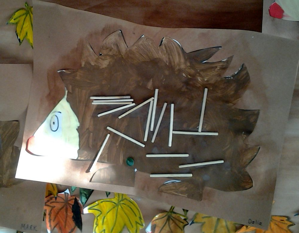 Moja dekoracja w przedszkolu