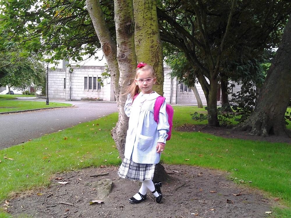 Pierwszy dzień w szkole Corpus Christi